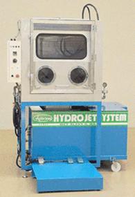 接液部は全SUS304及び不錆材使用。ハイドロ圧力モニター表示はオプション